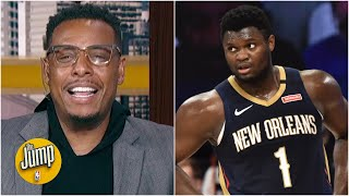 Kendrick Perkins and Paul Pierce are disappointed in the Pelicans' NBA bubble performance | The Jump