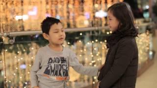 """""""Slap her"""": Kyrgyz children's reactions."""