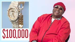 E-40 Shows Off Some of His Favorite Jewelry | On the Rocks | GQ