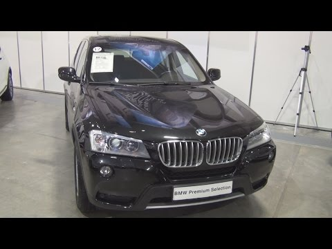 BMW X3 xDrive 30d xLine (2012) Exterior and Interior in 3D