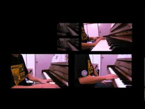 S.H.E 我爱雨夜花 钢琴版