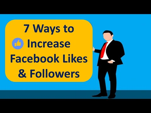 How To Increase Facebook Likes & Followers/ 7 Ways to Increase Facebook Likes Without Spending Money
