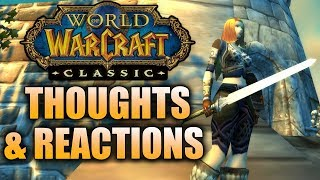 WoW Classic Demo Thoughts & Reactions