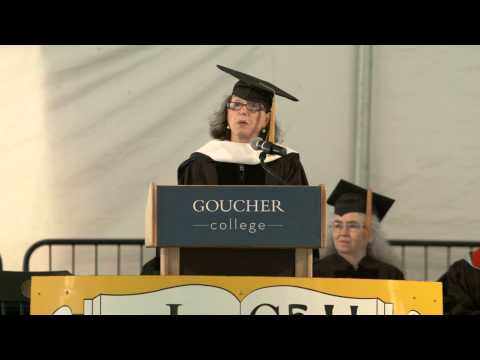 Goucher College Commencement 2013 - Judith Viorst - YouTube