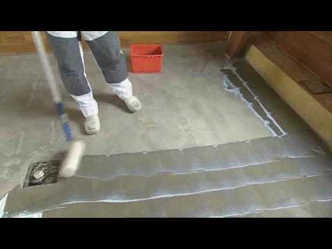 How To Prepare Your Floor For Stepper Self Adhesive Vinyl