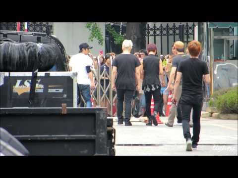 120713 KBS Super Junior 上下班