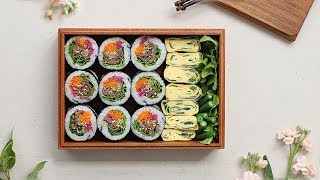 [ENG CC] 나들이 최고 메뉴, 불고기김밥 🍱: Bulgogi Kimbap [아내의 식탁]