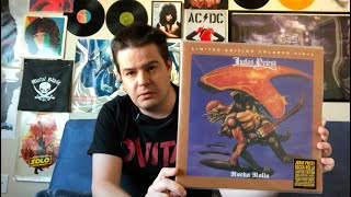 Judas Priest Rocka Rolla Colored Vinyl Reissue Unboxing and Review!