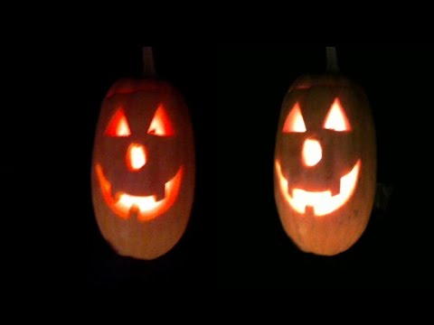 Halloween in 3D . PUMPKIN KILLER ( Flying Lanterns Jack )