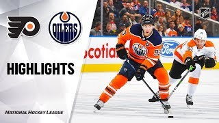 Flyers @ Oilers 10/16/19 Highlights