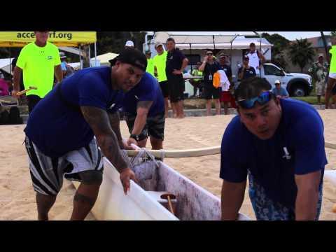The Na Koa Wounded Warrior Canoe Regatta Kick-Off