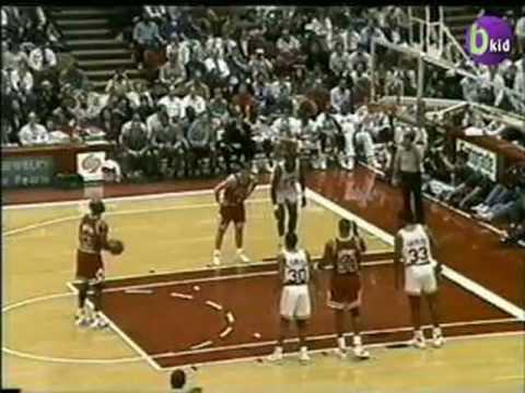 Jordan & The Bulls vs Hakeem & The Rockets 1991/92