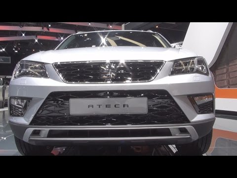 Seat Ateca Grey (2016) Exterior and Interior in 3D