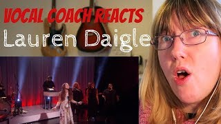Vocal Coach Reacts to Lauren Daigle 'Still rolling stones' Ellen Debut