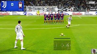 PES 2021 | Juventus vs Crotone | C.Ronaldo Free Kick Goal vs Crotone Gameplay
