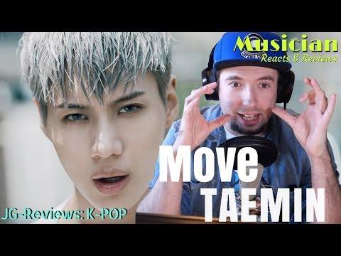 Musician Reacts & Reviews TAEMIN 태민 - Move    JG-Reviews:K-POP