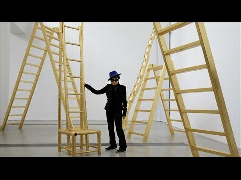 Yoko Ono's First Solo Exhibition in Beijing