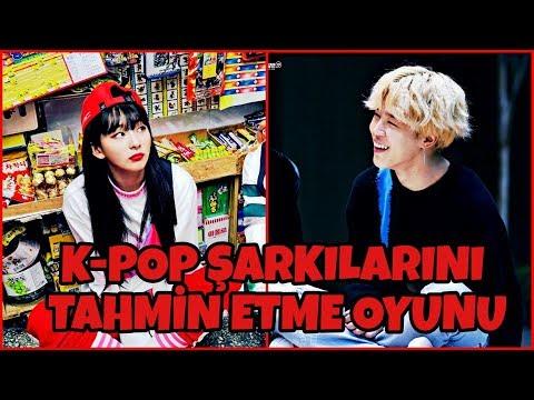 K-POP ŞARKILARINI TAHMİN ETME OYUNU!