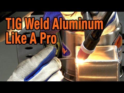 TIG Weld Aluminum Like A Pro  [CK-MT200 Master TIG]