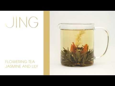 JING Tea - Flowering Jasmine and Lily Tea