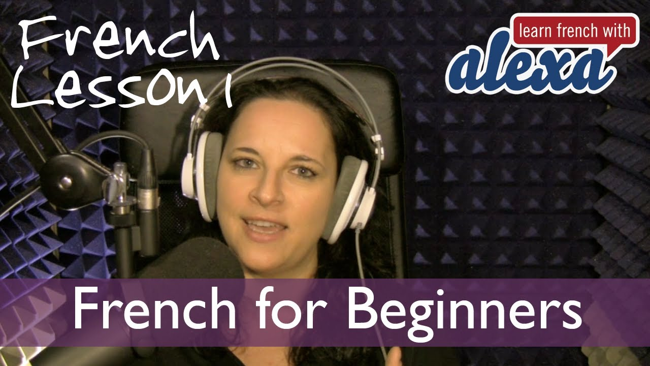 learn french with alexa polidoro free french lesson 1 youtube. Black Bedroom Furniture Sets. Home Design Ideas
