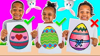 3 MARKER EASTER CHALLENGE WITH THE PRINCE FAMILY