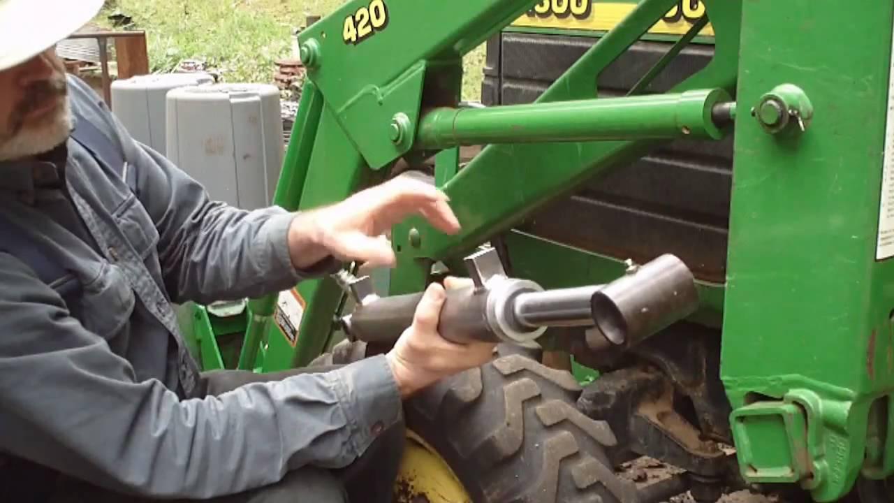 Upgrading John Deere Fel Loader Cylinders Part 1 Youtube