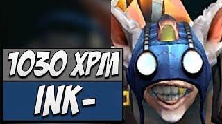 Ink Meepo - Rank 1 with 1030 XPM   Dota Gameplay