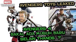Bakal Ada Musuh Baru Selain Thanos Di Avengers 4 ? | Avengers Toys Leaked Breakdown