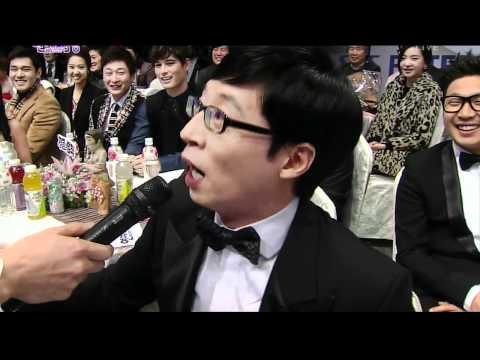 2011 SBS 연예대상 演藝大賞 @ LeeTeuk & EunHyuk - Interview