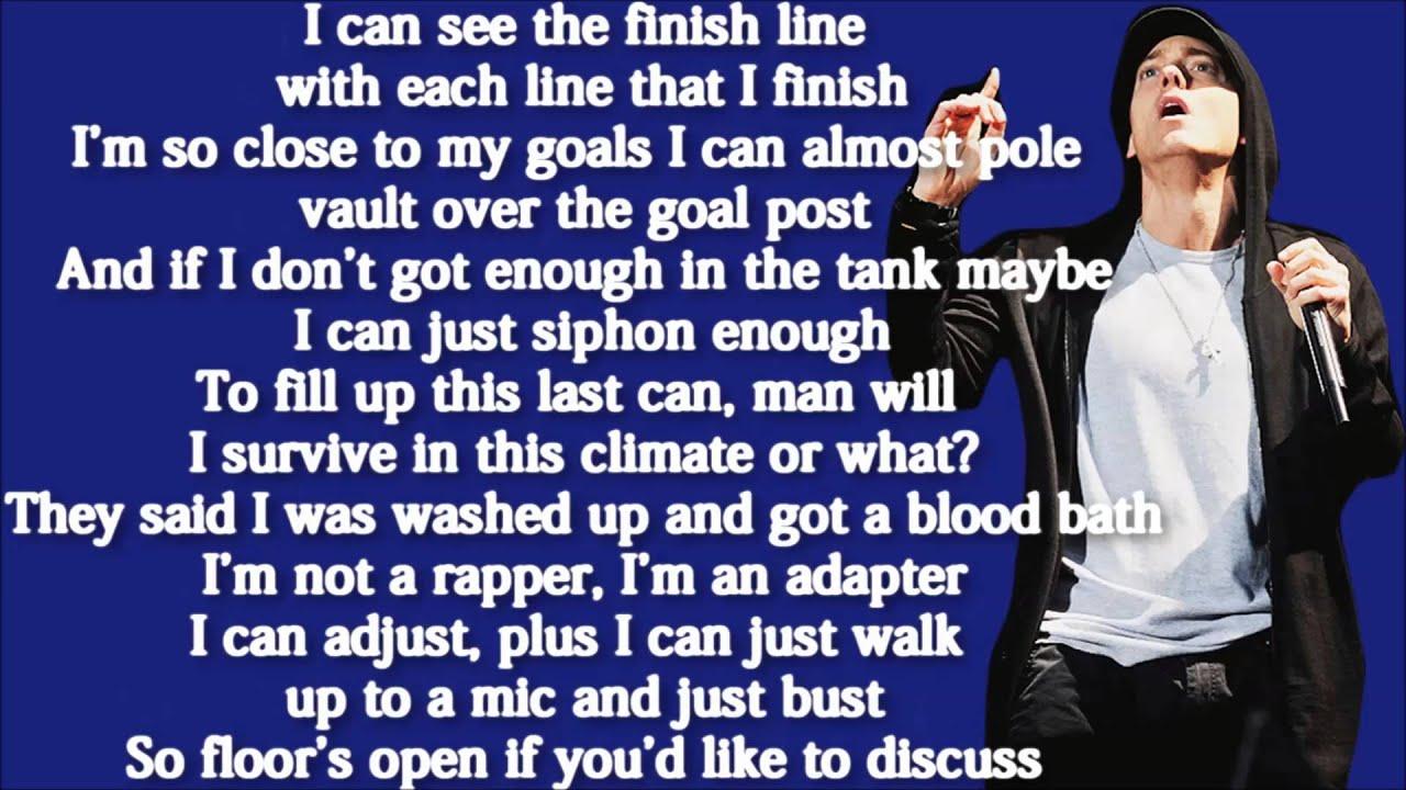 Eminem Rap God Lyrics Clean 58336 | PIXHD