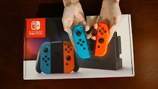 ASMR Relaxing Unboxing | Nintendo Switch