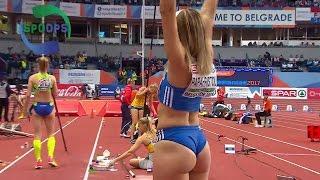 Belgrade 2017 - Women Triple Jump Compilation