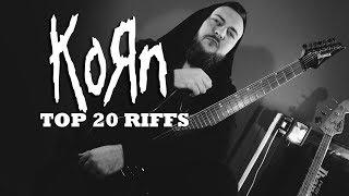 Top 20 Korn Riffs (+TAB)
