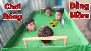 LamTV - Thử Chơi Đá Bóng Bằng Mồm Siêu Lầy - Đá Banh Bằng Đầu | Play football with your head