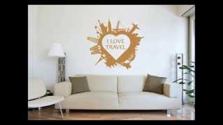 Wall Stickers Design Ideas - Wall Decal Ideas - Wall Deco