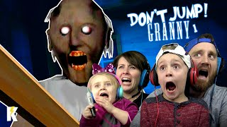 Try not to JUMP in GRANNY Horror Game Family Challenge!    KIDCITY GAMING