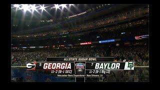 2020 Sugar Bowl – Georgia vs Baylor – Full Game