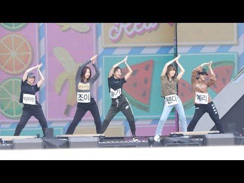180905 레드벨벳 (Red Velvet) 파워업 (Power Up) 사복 리허설 (Rehearsal)  [4K] 직캠 Fancam (DMC 페스티벌) by Mera