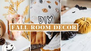 DIY Fall + Autumn Room Decor (Anthropologie Inspired) 🍂🍁🦊