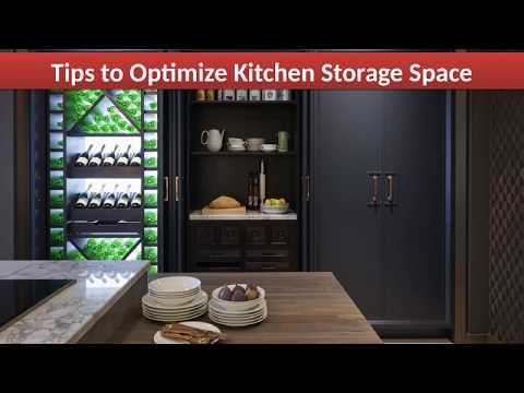 Tips to Optimize Kitchen Storage Space