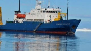 Freedom on horizon for ship trapped in Antarctica