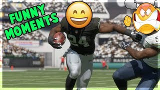 Madden 18 Funny Moments/ Hardest Hits