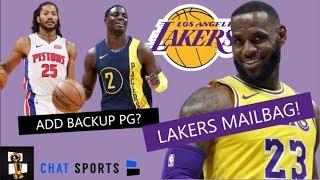 Lakers Trade Rumors On Derrick Rose & Andre Iguodala + Sign Darren Collison? | Lakers Mailbag