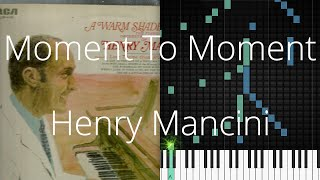🎹 [Piano Solo]Moment To Moment, Henry Mancini-Synthesia Piano Tutorial