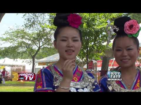 Guizhou Miao invited to the 2014 Smithsonian Festival in Washington DC. Pt 1.