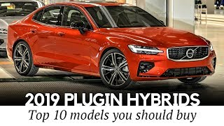 10 NEW Plug-in Hybrids of 2019: Electric Cars with Gasoline Range Extenders