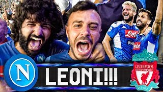 🦁LEONI!!! NAPOLI 2-0 LIVERPOOL | LIVE REACTION SAN PAOLO CHAMPIONS LEAGUE HD