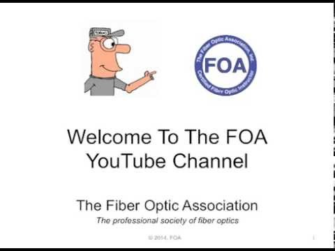 Welcome To The FOA YouTube Channel