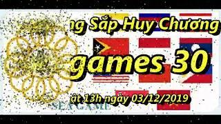Bảng Tổng Sắp Huy Chương Sea Games 30 ngày 3/12/2019